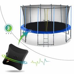 Exacme 10-16 FT Heavy Duty Round Trampoline with Inner Net a