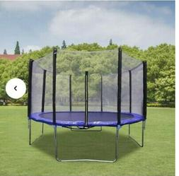Home beyond 10.3 ft Round with Safety Enclosure Net Trampoli