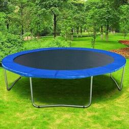 12/' 13/' 14/' 15/' Round Trampoline Safety Pad Replacement Frame Spring Blue Cover