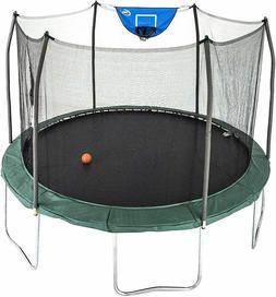 12 foot jump n dunk trampoline