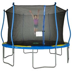 Bounce Pro 12-Foot Outdoor Trampoline Safety Enclosure Flash