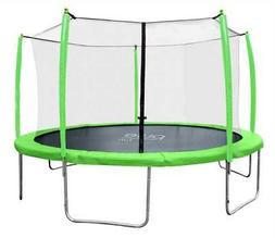 12 ft. Trampoline with Enclosure in Green
