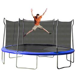 Kinetic 12' Round Trampoline and Safety Enclosure FAST SHIPP