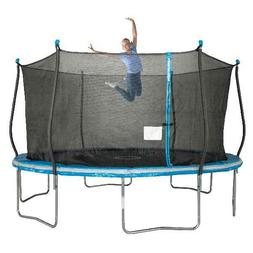 Bounce Pro 14-Foot Trampoline,with Classic Enclosure, Blue *