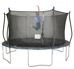Bounce Pro 14-Foot Trampoline, with Classic Enclosure, Midni