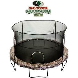 JumpKing 14-Foot Trampoline, with Enclosure, Mossy Pattern