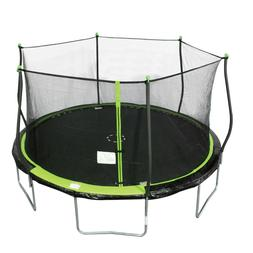 🔥 Bounce Pro 14 Foot Trampoline with Safety Enclosure 14f