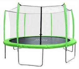 14 ft. Trampoline with Enclosure in Green