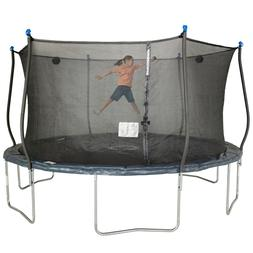 Bounce Pro 14 Ft Trampoline With Steelflex Enclosure and Saf