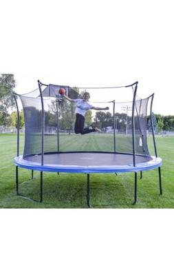 Propel 14' Heavy-Duty Pro Trampolines W/ Basketball Hoop A