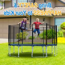 Exacme 14' Outdoor Sport Trampoline Easy Assemble Super St