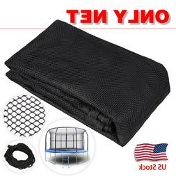 14Ft 8Pole Outdoor Replacement Trampoline Bounce Safety Encl