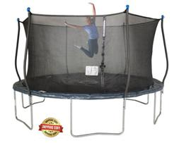 Bounce Pro 14ft Trampoline Steel Frame Enclosure and Safety