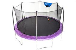 Skywalker Trampolines 15-Foot Jump N' Dunk Trampoline with
