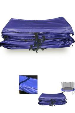 15 foot round pvc spring pad blue