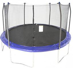 Skywalker Trampolines 15-Foot Trampoline, with Enclosure, Bl