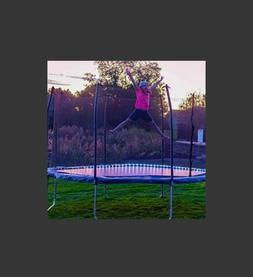Skywalker Trampolines 15' Round Trampoline and Enclosure -LI