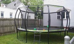 JUMPFLEX 15FT TRAMPOLINE WITH FULL ENCLOSURE NET SYSTEM Lo