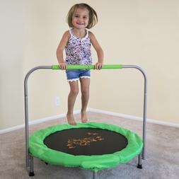 36 inch bouncer trampoline green