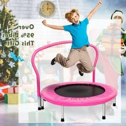 "Merax 36"" Kid's Mini Exercise Trampoline Portable Trampoline"