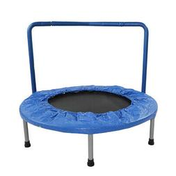 """36"""" Mini Handle Bar Trampoline Jump Round Exercise Fitness R"""