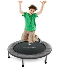 ANCHEER 38-40Inch Foldable Mini Trampoline Rebounder, Quiet