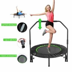40'' Fitness Trampoline Indoor Fun Training for Kid Adult  w