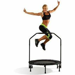 40 inch Cardio Trampoline Aerobic workout Built In stabilizi