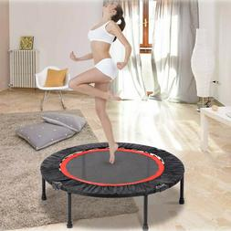 40'' Mini Fitness Trampoline Home Gym Fun Exercise Rebounder