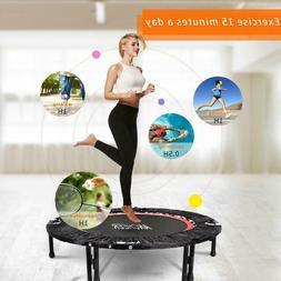 40 mini trampoline fitness workout rebounder