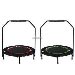 "40"" Mini Trampoline Rebounder Fitness For Adults Kids w/ Adj"