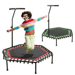 "44"" Trampoline Gym Circuit Trainer Fitness Exercise Workout"