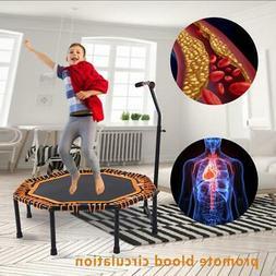 48'' Indoor Outdoor Mini Folding Trampoline Fitness Rebounde