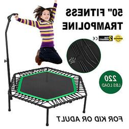50inch Exercise Fitness Trampoline Jump Training Steel Frame