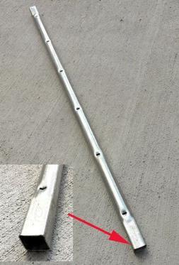 Bazoongi 7.5 Ft Trampoline Top Tube 6-Holes Frame Pipe Repla