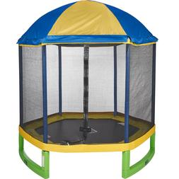 JumpZone 7' ft My First Trampoline Tent Top Enclosure Net Co