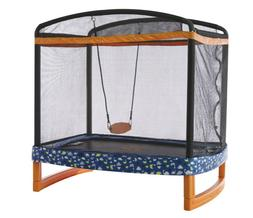 "72""X50"" Rectangle In/Outdoor Trampoline Safety Net W/Swing"