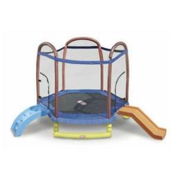 Little Tikes 7ft Climb 'n Slide Trampoline - 624919M