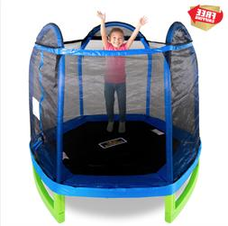 7ft Trampoline Kids Outdoor Toys Playground Equipment Toddle