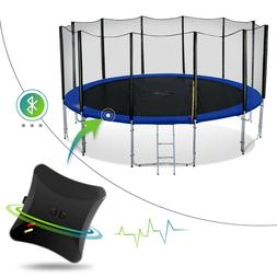 Exacme 8-16 FT High Weight Limit Round Trampoline with Net a