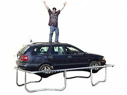 8'X14' Rectangle Trampoline with Safety Enclosure Ladder and