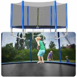 Round Trampoline Enclosure Net Jumping Mat  Pad Combo Bounce