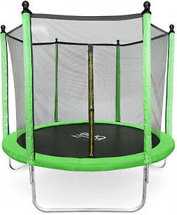 Pure Fun DuraBounce 8-Foot Trampoline With Enclosure