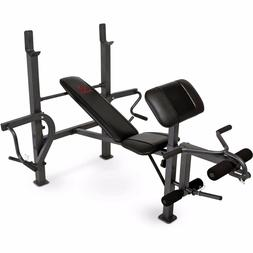 Adjustable Fly Gym Weight Bench with Multiple Attachments fo