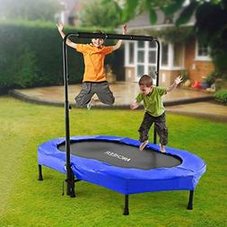 ANCHEER Foldable Trampoline, Mini Rebounder Trampoline with