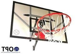 """Trampoline Pro Basketball Hoop with 46"""" wall mount"""