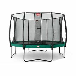 Berg Champion 11 Foot Outdoor Trampoline with Safety Enclosu