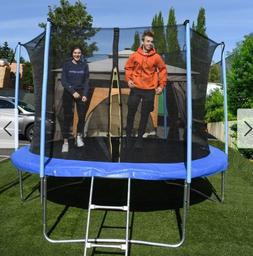 best trampoline 8 ft with safety net
