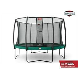 champion 11ft trampoline and safety net deluxe