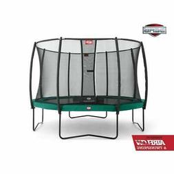 champion 14ft trampoline and safety net deluxe